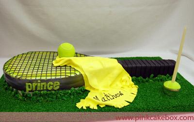 How To Make A Racket Cake