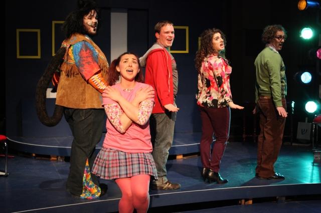 194 Wellington Da Silva, Maren Rosenburg, Isaac Samuelson, Rachel Pallante, Jordan Levin Photo by Gia