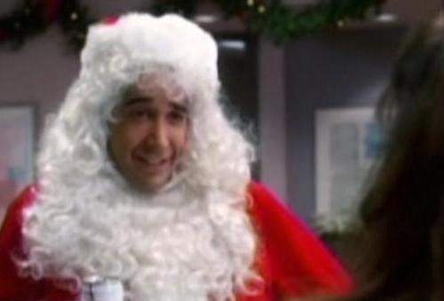 LAL016DavidSchwimmer as Santa