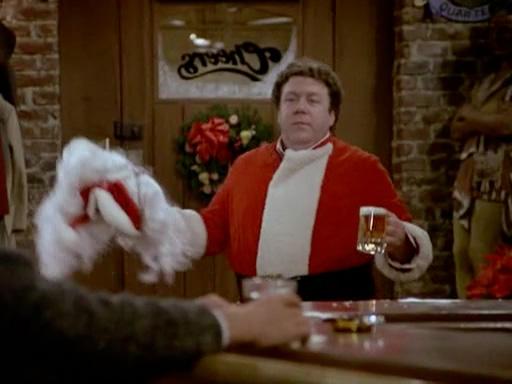 Norm as Santa