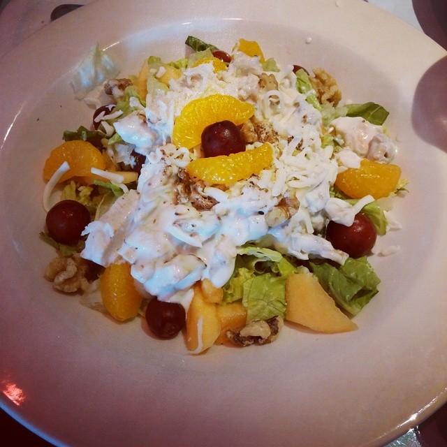 tangerine chicken salad