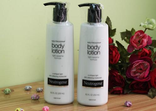 neutrogena body lotion