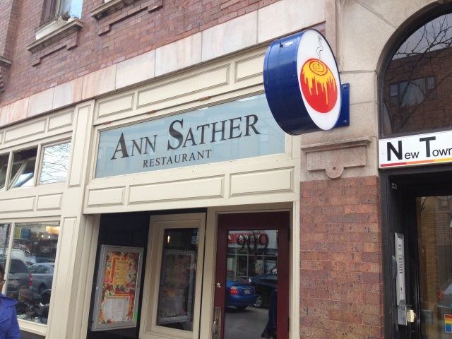 ann sather exterior